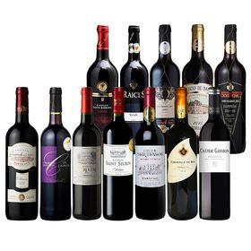【12本セット】全て金賞受賞 フランス・ スペイン 赤ワイン