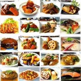 【和・洋・中・魚豪華セット】手作り惣菜20種計20食セット