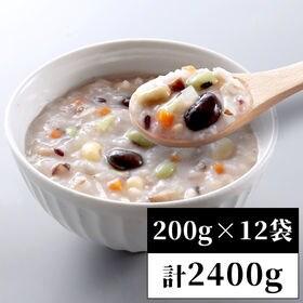 【200g×12袋】24種の具材たっぷり健康かゆ