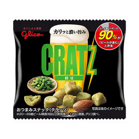 【25コ】グリコ クラッツミニタイプ〈枝豆〉14g