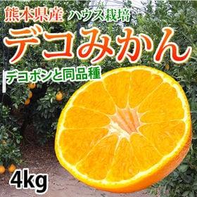 【予約受付】12/24~順次発送【4kg】熊本県産 ハウスデ...