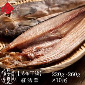 【2.2-2.6kg(220-260g×10尾セット)】北海...