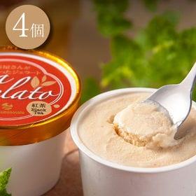 紅茶ジェラートアイス|紅茶が香るティージェラート4個セット