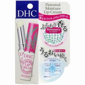 DHC 香る モイスチュアリップクリーム ローズマリー 1....