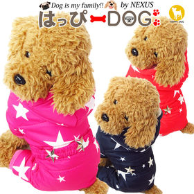 【ネイビー/XXL】犬 服 犬服 犬の服 つなぎ カバーオー...