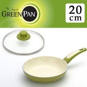 グリーンパン フォーカスライムグリーン フライパン20cm+...