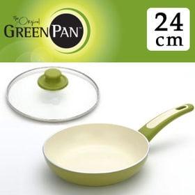 グリーンパン フォーカスライムグリーン フライパン24cm+...