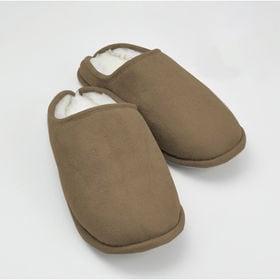 [Lサイズ(25-27cm)/ブラウン] 羊毛とシンサレート...