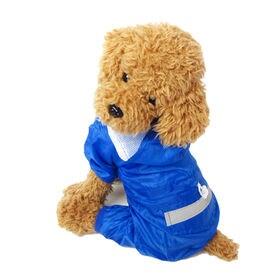 【ブルー/XL】犬のカッパ 犬 服 犬服 犬の服 レインコー...