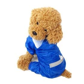 【ブルー/XS】犬のカッパ 犬 服 犬服 犬の服 レインコー...