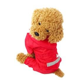 【レッド/XS】犬のカッパ 犬 服 犬服 犬の服 レインコー...