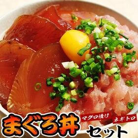 【10食】鉄火丼5袋・ねぎとろ丼5袋 マグロ丼セット