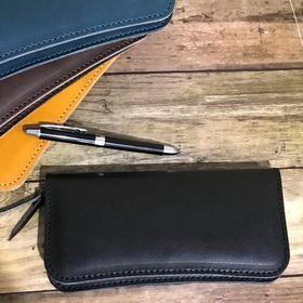 【ブラック】栃木レザー 長財布