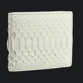 白蛇二つ折財布/61235