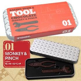 工具チョコ モンキー&ペンチ(レッド)