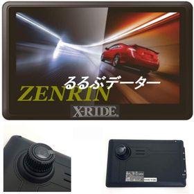 X-RIDE ドライブレコダー付き ポータブルナビ 7インチ...