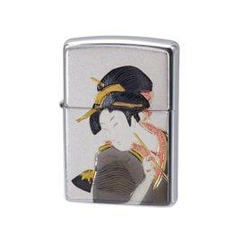 ZIPPO ジッポー ライター 電鋳板 和柄 浮世絵