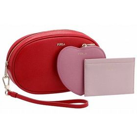 【FURLA】ポーチ3点セット/ELECTRA L【RUBY...
