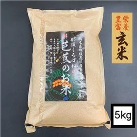 【5kg】プレミアム有機玄米 「那須くろばね芭蕉のお米」 J...