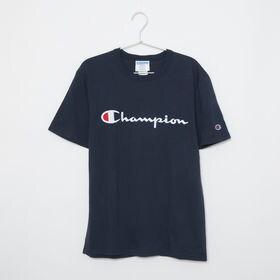 [CHAMPION]HERITAGE TEE ネイビー【XL...