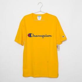[CHAMPION]HERITAGE TEE イエロー【XL...