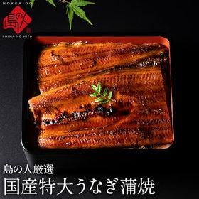 【200g】国産 うなぎ 特大蒲焼 鹿児島県産 カット 肉厚