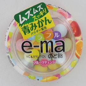 【33Gヨウキ×18個】e-Maのど飴容器カラフルフルーツチ...