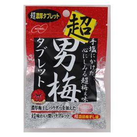 【30g×18個(6×3B)】ノーベル 超男梅タブレット