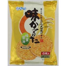 【6マイ×12個】味かるた 蜂蜜醤油