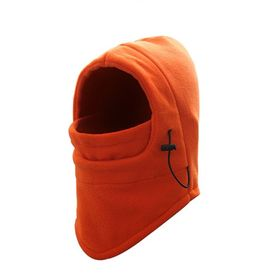 【オレンジ】ネックウォーマー フェイスマスク