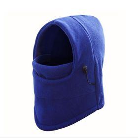 【ブルー】ネックウォーマー フェイスマスク
