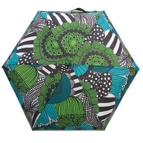 マルチ[marimekko]折り畳み傘 SIIRTOLAPUUTARHA MINI MANUAL | マリメッコらしい愛らしいプリントで、雨の日のおでかけも楽しくなりそう♪