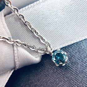 GE  非アレルギー仕様 ブルーダイヤモンド 0.15ct ...