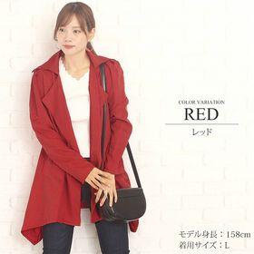 【レッドL】ふんわりジャケット【vl-5202】【S/S】