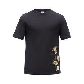【色:BLACK-ブラック】ロエベ プリントTシャツ BOT...