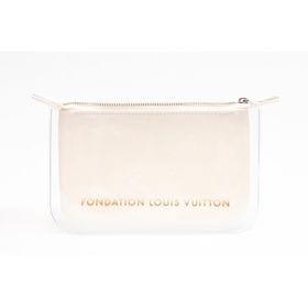 【FONDATION LOUIS VUITTON】美術館 限定 ポーチ #White Clutch | パリのルイヴィトン美術館 限定商品