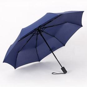 【ネイビー】折りたたみ傘 自動開閉 男女兼用 日傘 雨傘 晴...