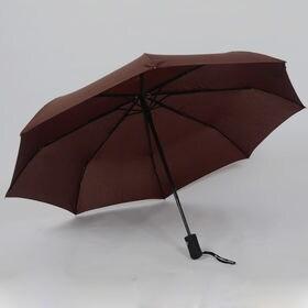 【ブラウン】折りたたみ傘 自動開閉 男女兼用 日傘 雨傘 晴...