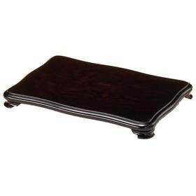 木製花台 飾り台 なでしこ 黒檀調 12号 36cm