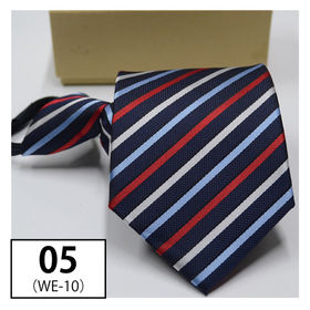 【05】ワンタッチ式ネクタイ 選べる12カラー ネクタイ ビ...