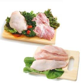 【合計4kgセット】菜彩鶏 鶏もも肉 むね肉セット(もも肉2...