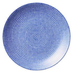 ブルー【ARABIA】26cm  24h アベック プレート