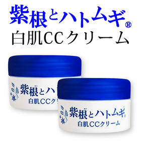 【100g×2個セット】紫根とハトムギ 白肌CCクリーム 1...