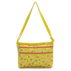 イエロー[LeSportsac]ショルダーバッグ  QUINN BAG | 豊富なポケットで小物もすっきり収納!日常使いにオススメ♪