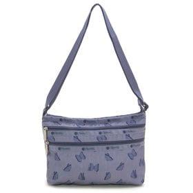 ブルー[LeSportsac]ショルダーバッグ QUINN BAG | 豊富なポケットで小物もすっきり収納!日常使いにオススメ♪
