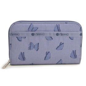ブルー[LeSportsac]長財布 LILY | 軽くて丈夫な素材で使い勝手は抜群!たくさんのカードもすっきり収納できて◎