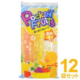 【計120本入(10本入×12袋セット)】ポッキンフルーツ ...