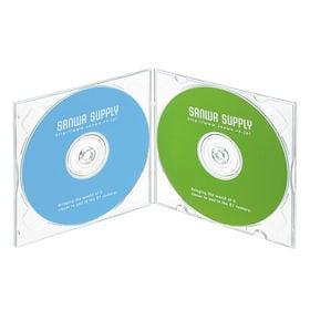 Blu-ray・DVD・CDケース(2枚収納ソフトタイプ・1...