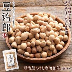 【390g】豆治郎のうま塩落花生 (チャック付)