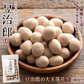 【240g】豆治郎の大玉落花生(チャック付)